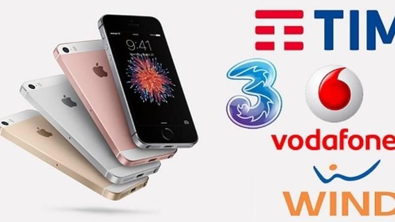 smartphone incluso con Wind Tre Vodafone e Tim conviene o no